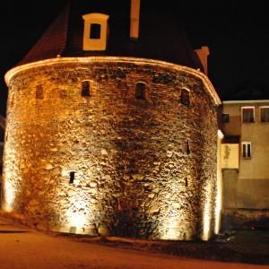 Beleuchtung Stadtmauer
