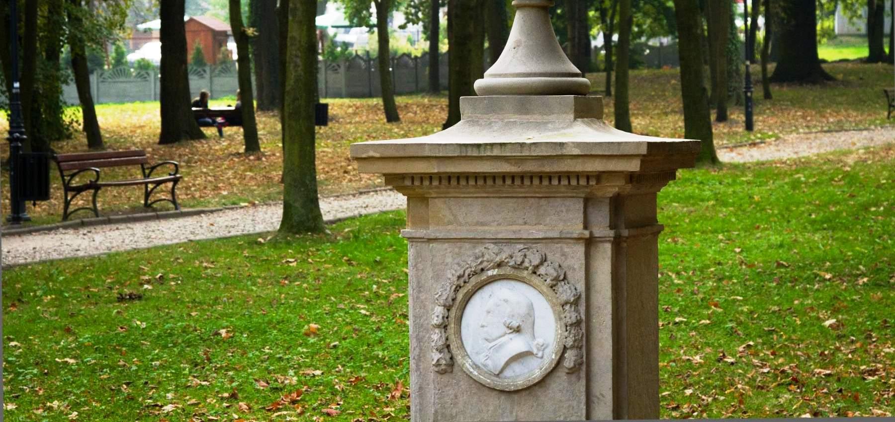 Denkmal für den Philosoph Salomon Maimon