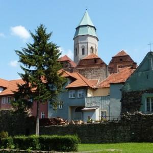 Kożuchów Old Town with city walls