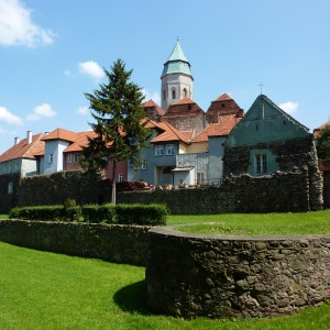 Old town and city walls, medieval fortification