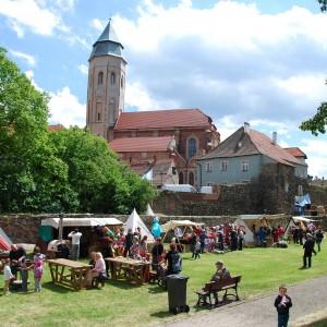 Medieval market during the Kożuchów days